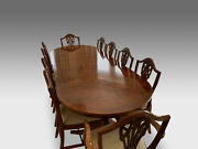 Cmc Designer Art Deco Style Burr Yew Tree Dining Table Pro French Polished