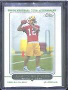 2005 Topps Chrome Football Rookie 190 Aaron Rodgers