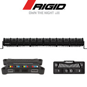 Rigid Industries Adapt Multi Color 30 Led Light Bar W/ Active View Technology
