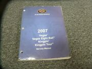 2007 Victory Vegas And Vegas Eight 8 Ball Motorcycle Shop Service Repair Manual