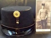 Pre-ww 1 Imperial Austria-hungary Known And Identified Officerandrsquos Kappe Kuk