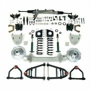 1955 - 1959 Chevy Truck Mustang Ii Front Suspension Power Rack 2 Drop Spin
