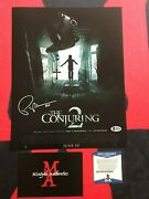 Patrick Wilson The Conjuring Autographed Signed 11x14 Photo Beckett Coa Horror
