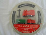 Coca Cola Battery Operated Table Top Train Set