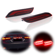 For 2018-2021 Toyota Camry Sequential Reflector Led Brake Signal Lights Fog Lamp