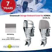Oceansouth Outboard Motor Half / Storage Cover For Honda 3 Cyl 1l