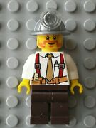 Personnage Lego City Minifig Ref Cty0322 / Set 4204 The Mine