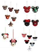Disney Mickey Mouse Christmas Tree Bauble Advent And Ornaments Decorations Primark