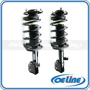 2x Complete Quick Front Strut Coil Spring Assembly For 2003-08 Pontiac Vibe