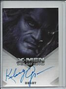 X-men X3 Movie The Last Stand - Kelsey Grammer As Beast - Autograph Auto Card