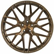 """20"""" Rohana Rfx10 Brushed Bronze Concave Wheels For Accord Camry Altima Maxima"""