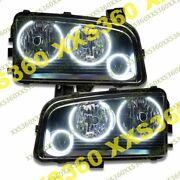 Oracle Triple Halo Headlights Non Hid For Dodge Charger 05-10 White Led