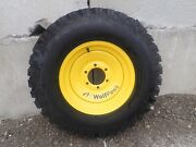 New Snow Wolf Wolf Paw Snow Tires For Bobcat Toolcat Utility Vehicles Set Of 4