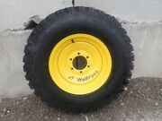 New Snow Wolf Wolf Paw Snow Tires For Bobcat Toolcat Utility Vehicles, Set Of 4