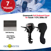 Oceansouth Outboard Storage Full Cover For Suzuki 1 Cyl 208cc 15 Leg