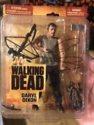 Walking Dead Norman Reedus Hand Signed Series 1 Daryl Dixon Action Figure Rare