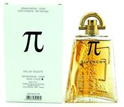Pi Cologne By Givenchy 3.3 Oz. Eau De Toilette Spray For Men Tester. Never Used