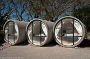 Glamping Pod Camping Garden Summer House Cave Concrete Pipe Tube Cabin Office