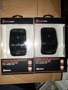 Lot Of 2 Black Web Wireless Bluetooth Touch Mouse W/ Laser Pointer And Presenter