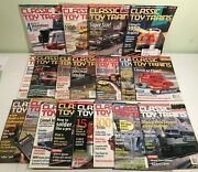 Lot 19 Magazines Classic Toy Trains 2000-2001-2002-3 Mth Lionel American Flyer