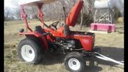 All Or Parts Farm Pro 2420 2 Wheel Drive Tractor With Power Steering