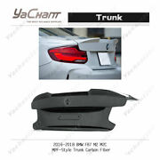 Carbon Fiber Boot Lid Fit For 2016-2018 Bmw F87 M2 M2c Mpf-style Trunk