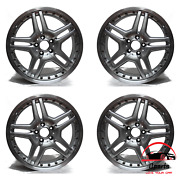 Set Of 4 Mercedes Cls63 2007 2008 19 Factory Oem Staggered Amg Wheels Rims