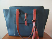 Dooney And Bourke Cambridge East West Shopper Tote