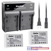 Kastar Battery Ac Rapid Charger For Canon Nb-5l Nb5lh Powershot Sd790 Is Sd790is