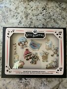 Disney Silly Symphony Cookie Carnival 90th Anniversary Le 1000 Pin Set New