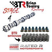 Brian Tooley Ls 4.8 5.3 6.0 Ls Truck Stage 4 Camshaft Kit Btr Springs Cam Seals