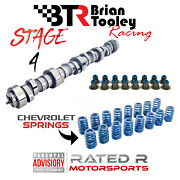 Brian Tooley Ls Truck Stage 4 Cam Kit Btr Camshaft Chevy Springs Ls Hat Seals