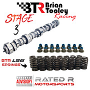 Btr Ls Truck Stage 3 Camshaft Kit Brian Tooley Cam Ls6 Springs Hat Seals 5.3 6.0