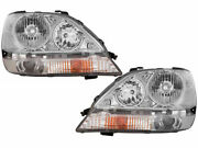 Fits For Lexus Rx300 2001 2002 2003 Headlight W/hid Right And Left Pair Set