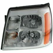 2003 2004 2005 2006 Fits For Cd Escalade Headlight W/hid Left Driver Side