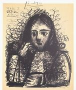 Pablo Picasso Hand Signed Signature Series His Recent Drawings Print