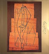 Victor Vasarely Hand Signed Signature Gordes-i Photo-lithograph
