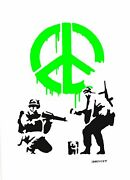 Banksy - Limited Edition 31 Of 200 Cnd Soldiers
