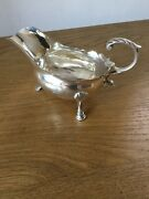 Antique Solid Silver Sauce Boat London 1778