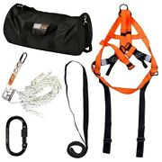 Linq Economy Roof Worker Kit - Harness Rope Shock Abs Biner Sling | Auth Dealer