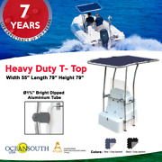 Oceansouth Heavy Duty Boat T-top Aluminum Tube And White Powder Coated
