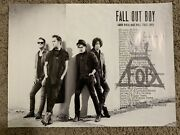 Fall Out Boy Official Tour Lithograph Save Rock And Roll 18x24