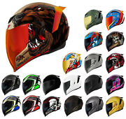 Ships Same Day Icon Airflite All Colors Motorcycle Helmet