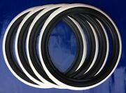 R15 Tire For Most All 1958-1979 Vw Beetles Tire Trim Black White Wall 4pcs
