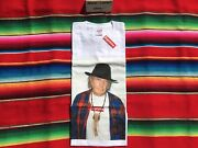 Nwt Supreme Neil Young Ss15 White Tee T Shirt M Box Logo 100 Authentic Rare New