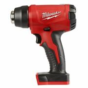 Milwaukee M18 Compact Heat Gun M18bhg0 18v Guarded Nozzle Skin Only Usa Brand