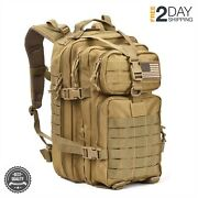 Military Assault Backpack Bag Us Marines Coyote Molle Tactical Med Army Hunting