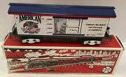 Marx Trains 7341-8 American Beer Refrigerator Car New In Box Free Ship