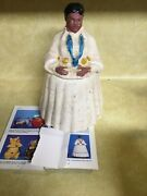 Free Shipping Vintage Cookie Jar Indian Lady Very Rare American Bisque Unmarked