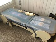 Migun Bed-hy7000um- Wood Frame Massage Table With Custom Aftermarket Hand Rails